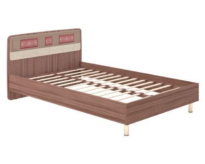 Спальня Розали Кровать с ортопедическим основанием Розали 96.03 и ОК4